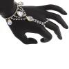 Hand Jewellery Drop Crystal Aurora Borealis